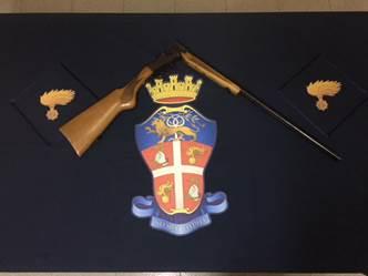Villa di Briano: arrestato uomo per porto d'armi abusivo
