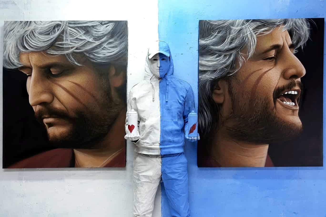 Pino Daniele, un maxi murale a Napoli