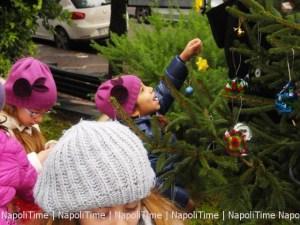 Natale di Luci a Bagnoli - Consegna Albero di NapoliTime