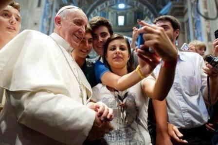 Papa Selfie