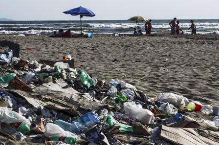 plastica spiagge