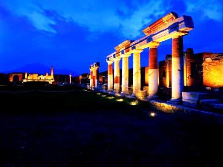 scavi pompei notte musei