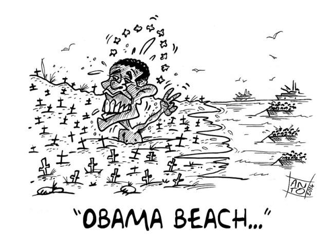 ANTO Spiaggia di Obama 060614