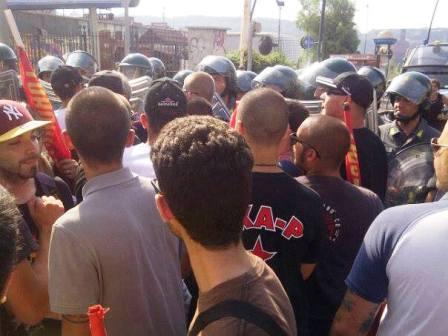 manifestanti bagnoli