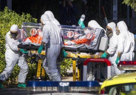 missionario ebola foto epa