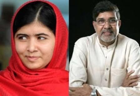 Malala Yousafzai e Kailash Satyarthi
