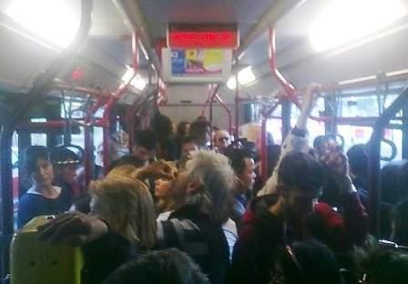 passeggeri bus