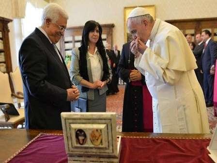 Abu Mazen Papa Francesco