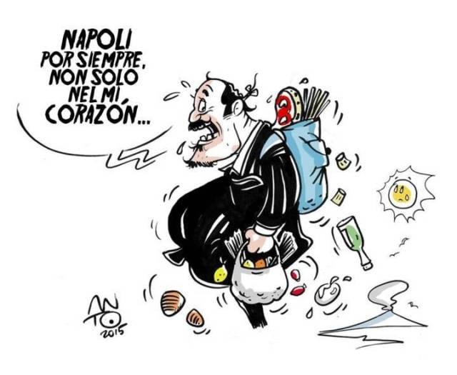 Benitez lascia Napoli
