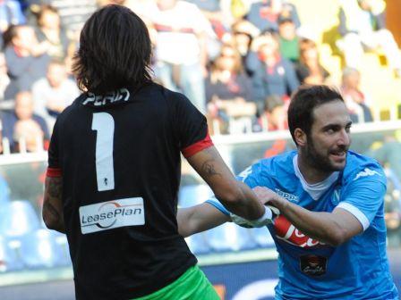 Genoa Napoli Perin Higuain
