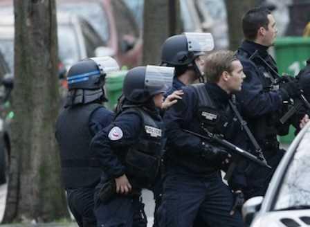 polizia parigi