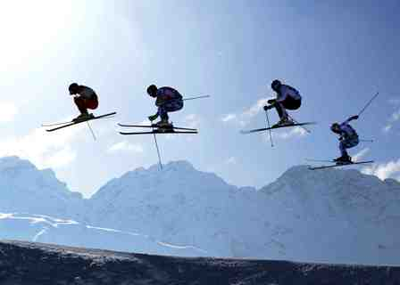 SKI CROSS WORLD CUP 2014/2015 - Arosa (SUI) -  February, Saturday, 7. 2015.  (Pier Marco Tacca/Pentaphoto)