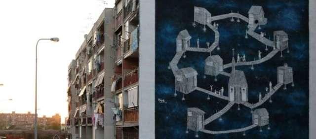Risultati immagini per Je sto vicino a te street art