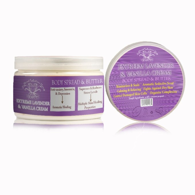 Extreme Lavender & Vanilla Cream Body Spread & Butter 12oz.