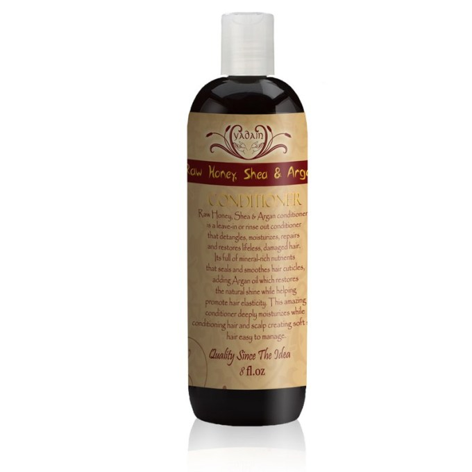 Raw Honey, Shea & Argan Oil Conditioner