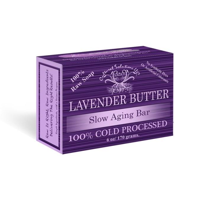 Lavender Butter Slow Aging Bar