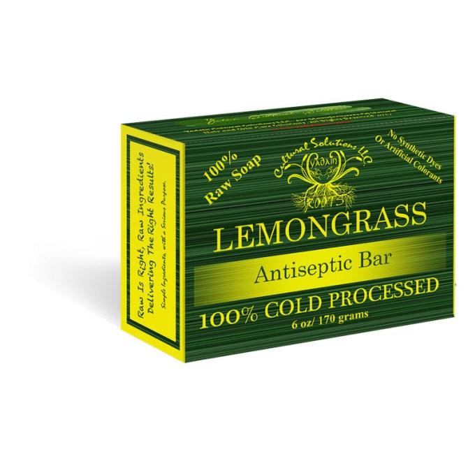Lemongrass Organic Raw Soap Bar