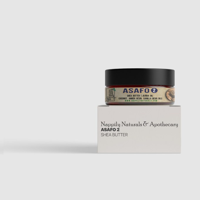 Asafo 2 – Whipped Shea Body Butter