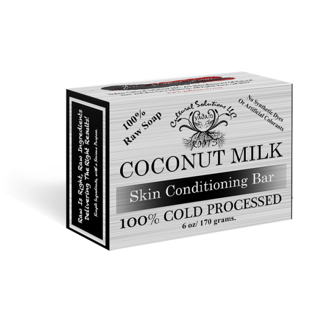 Coconut Milk Raw Soap