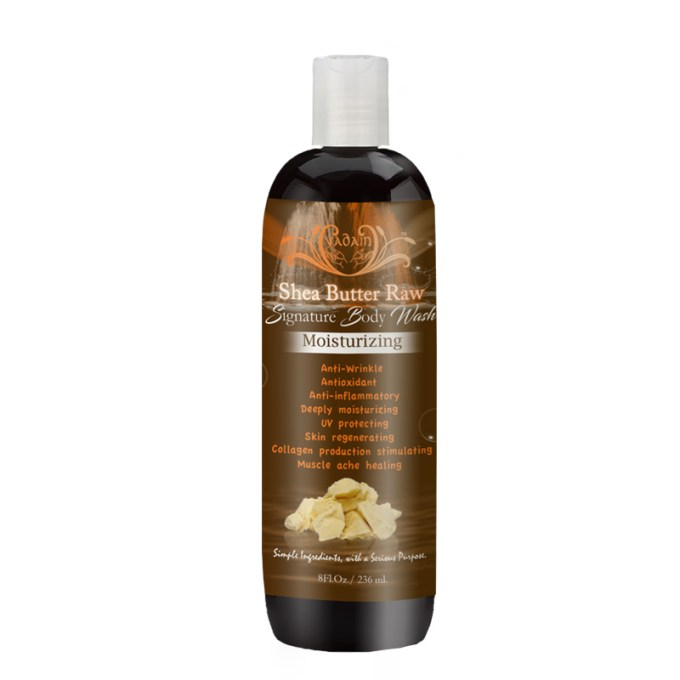 Shea Butter Raw Body Wash