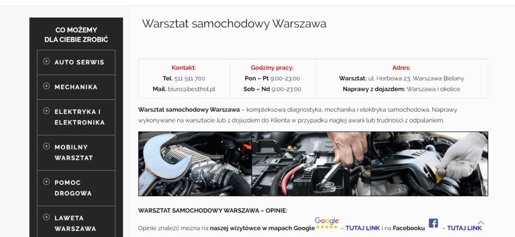 Best Hol - Warsztat Samochodowy Warszawa