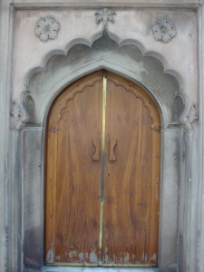 Entrance to the Khanqah Mazhariya complex