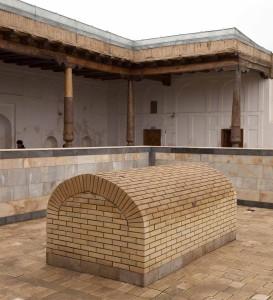 The blessed tomb of Khwaja Arif Riwgari