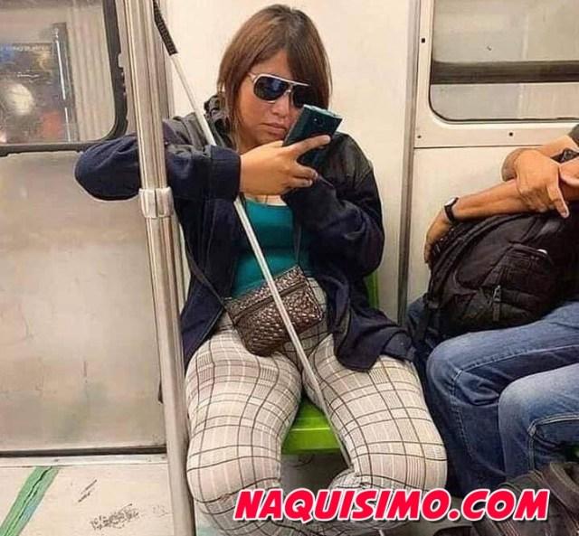 milagros ciegos ven en el transporte publico