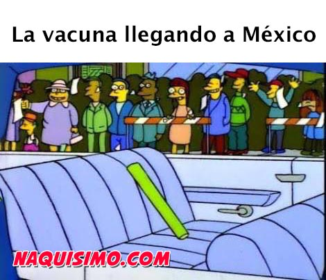 memes de los simpson vacuna mexico