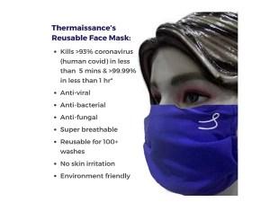 Thermaissance Reusable mask