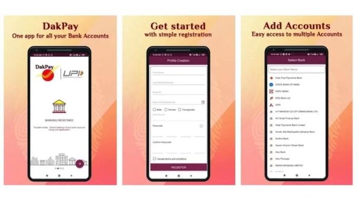 dakpay app add accounts