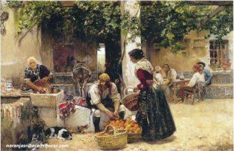 Joaquin-sorolla-vendedor-de-naranjas-ribera-del-jucar