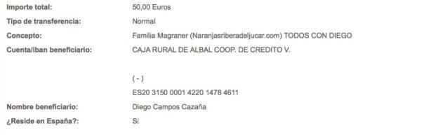 TODOS-CON-DIEGO-cuenta-bancaria-caja-rural-aportación-solidaridad