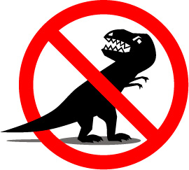 No dinosaurios en Naranjo Publicidad