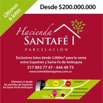 Imagen redes sociales Hacienda Santafé