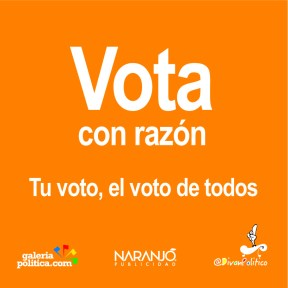 Vota con razón