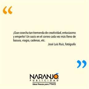 José Luis Ruiz sobre las Naranjotas de Naranjo Publicidad