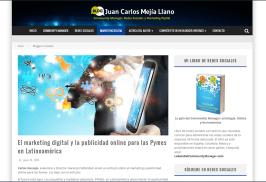 Publicación Carlos Andres Naranjo en blog de Juan C. Mejía Llano