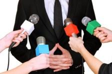 Rueda de prensa en momentos de crisis