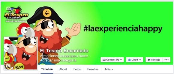 Cuenta Facebook El Tesoro Encantado