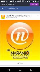 Imagen de perfil de NARANJO PUBLICIDAD apócrifa