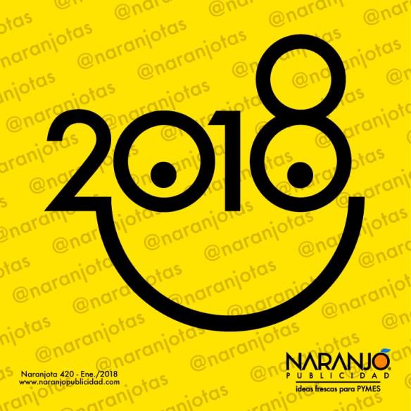 2018, el año de la alegría