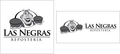 Nuevo logo Las Negras Repostería.