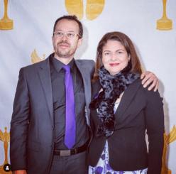 Jacqueline Toloza y Carlos Naranjo.