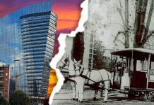 Milano Binari e Grattacieli. Webinar e percorso in presenza sulla storia della città a partire dalle rotaie e dalle ciminiere di un tempo.