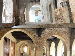 Masserano: gli splendidi portici. Una delle testimonianze dellincredibile storia che ha accompagnato lo sviluppo del borgo.
