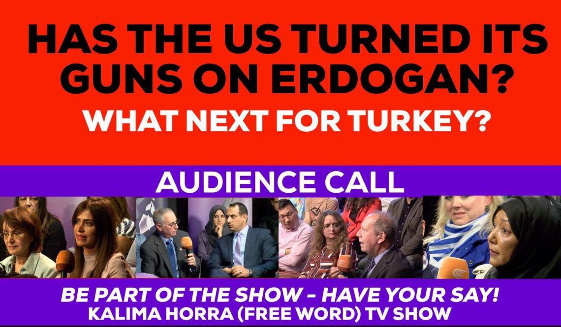 Has US Turned its Guns on Erdogan Kalima Horra show George Galloway Narcissi Almayadeen January 2017