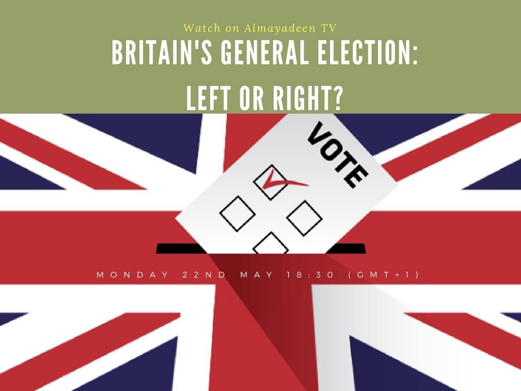 Kalima Horra UK-Snap-election-London George Galloway Almayadeen Narcissi