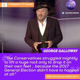 GG3 Kalima Horra UK-French elections Almayadeen George Galloway Narcissi