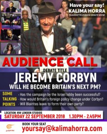 Will Jeremy Corbyn become Britain's next Prime Minister - Kalima Horra - Narcissi Productions